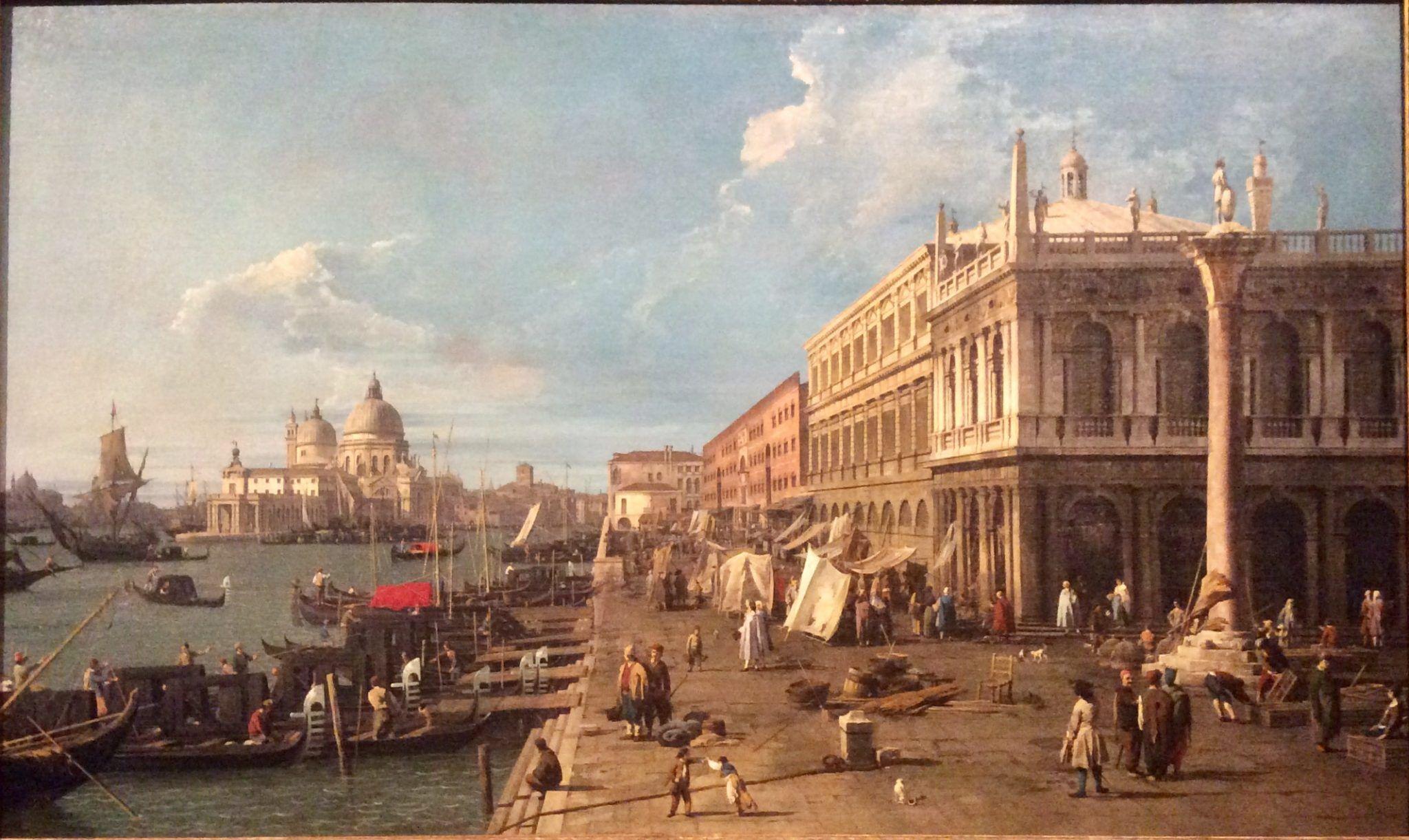 Canaletto Molo verso Ovest Foto di repertorio ArtsLife