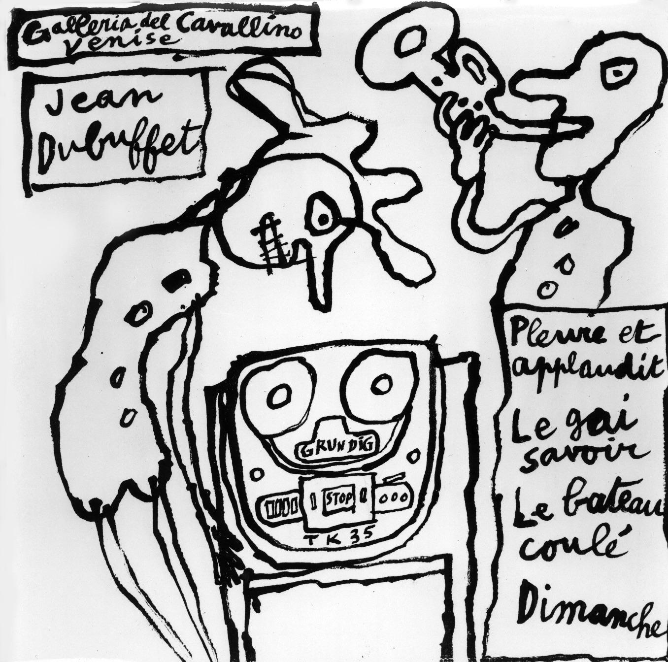 Jean Dubuffet Tommaso Calabro