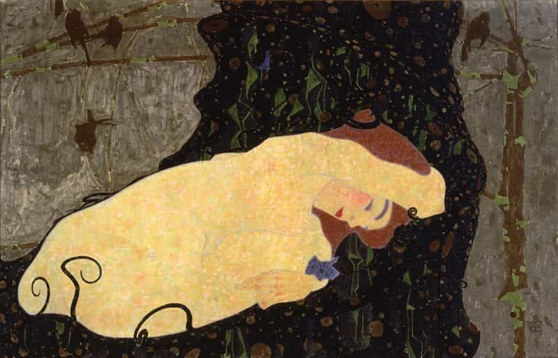 Egon Schiele, Danae, 1909