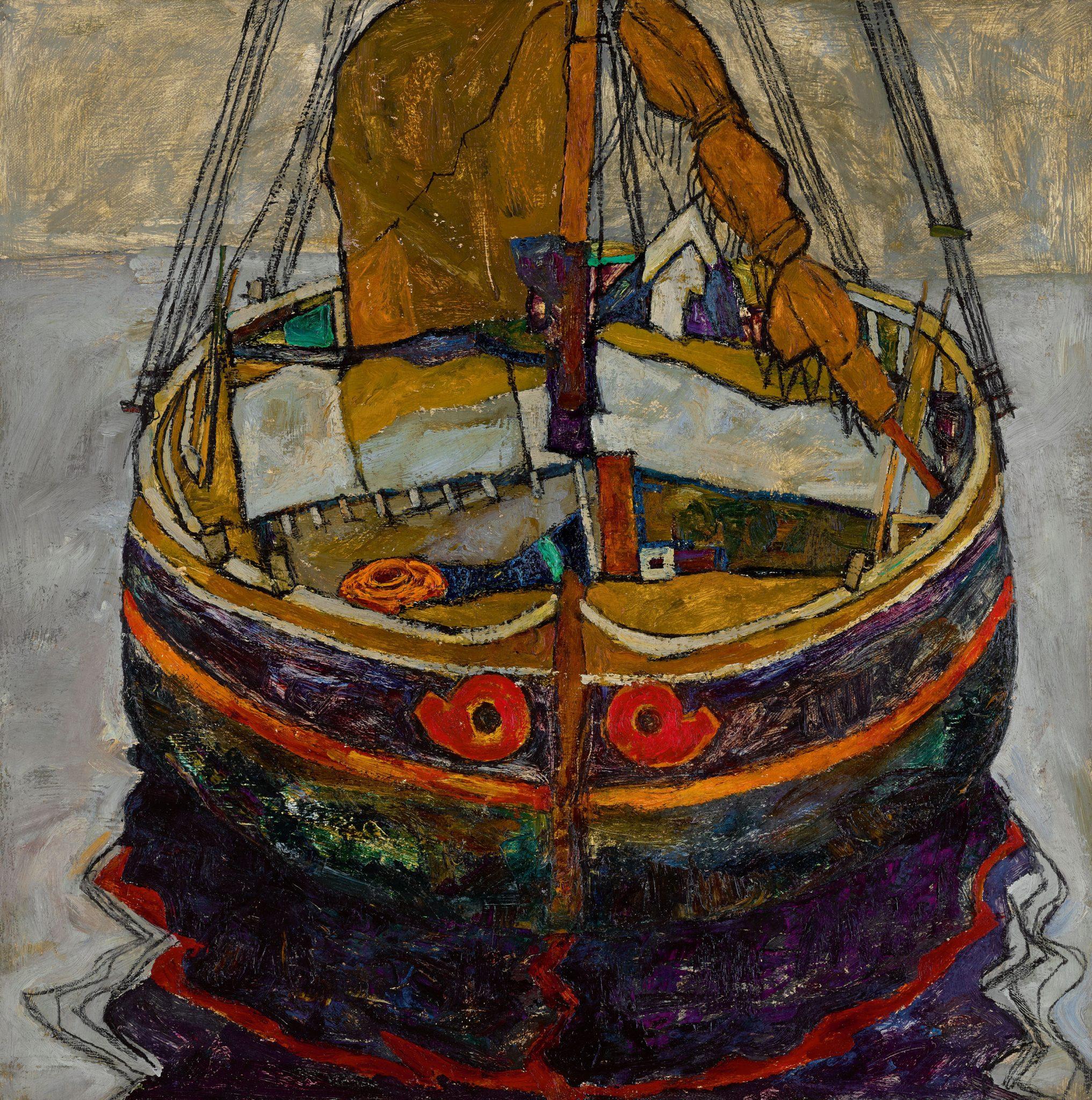 """""""Barca da pesca a Trieste"""" di Schiele in asta da Sotheby's a 6-8 milioni £"""