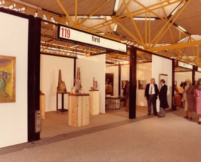 Galleria Forni alla prima edizione di Arte Fiera.
