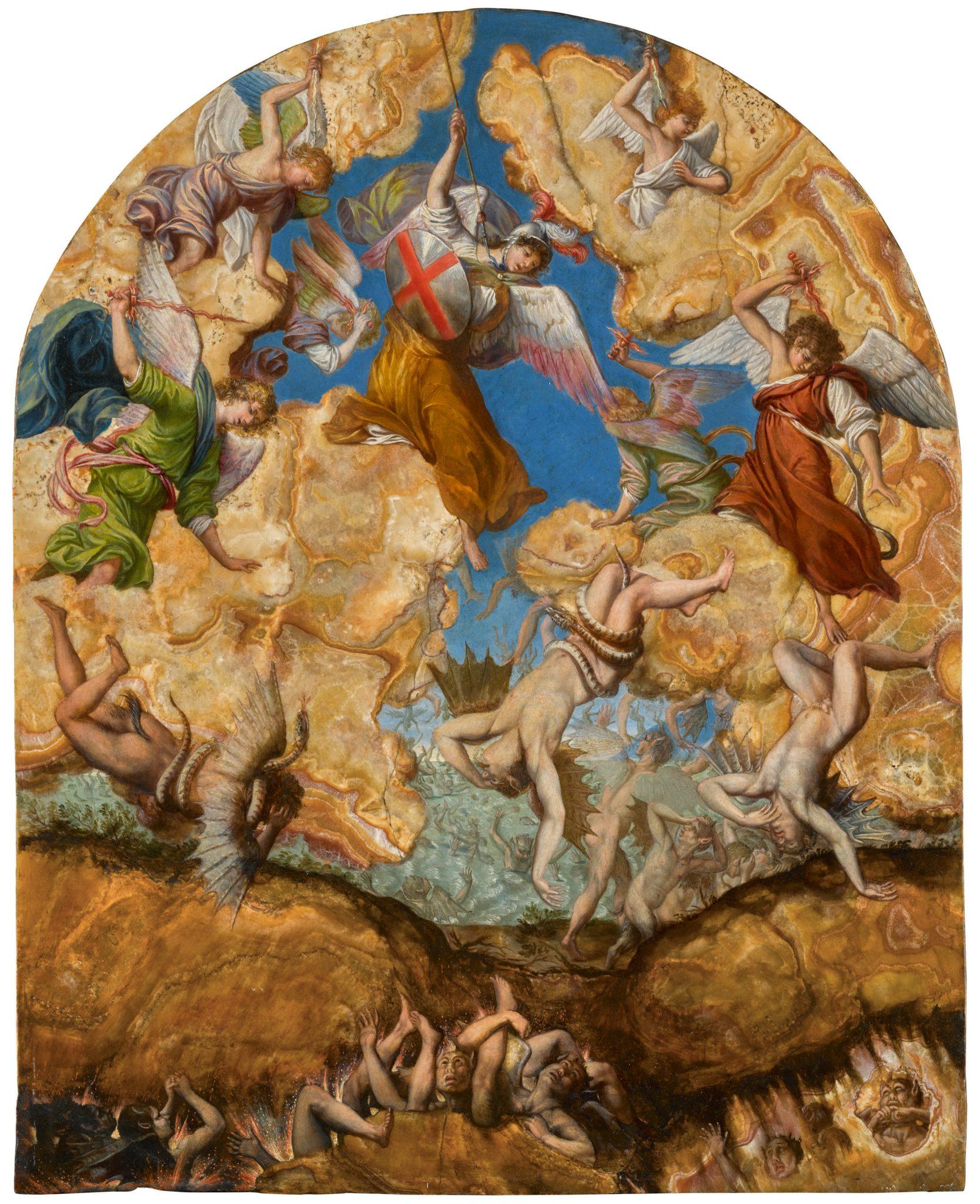 """Orazio Gentileschi """"Caduta degli Angeli Ribelli"""" Stima 2,5- 3,5 milioni di dollari"""