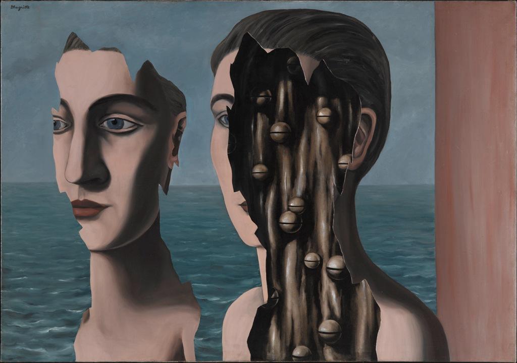 René Magritte - Doppio Segreto, 1927 Centre Pompidou, Paris © Adagp, Paris © René Magritte by SIAE 2018