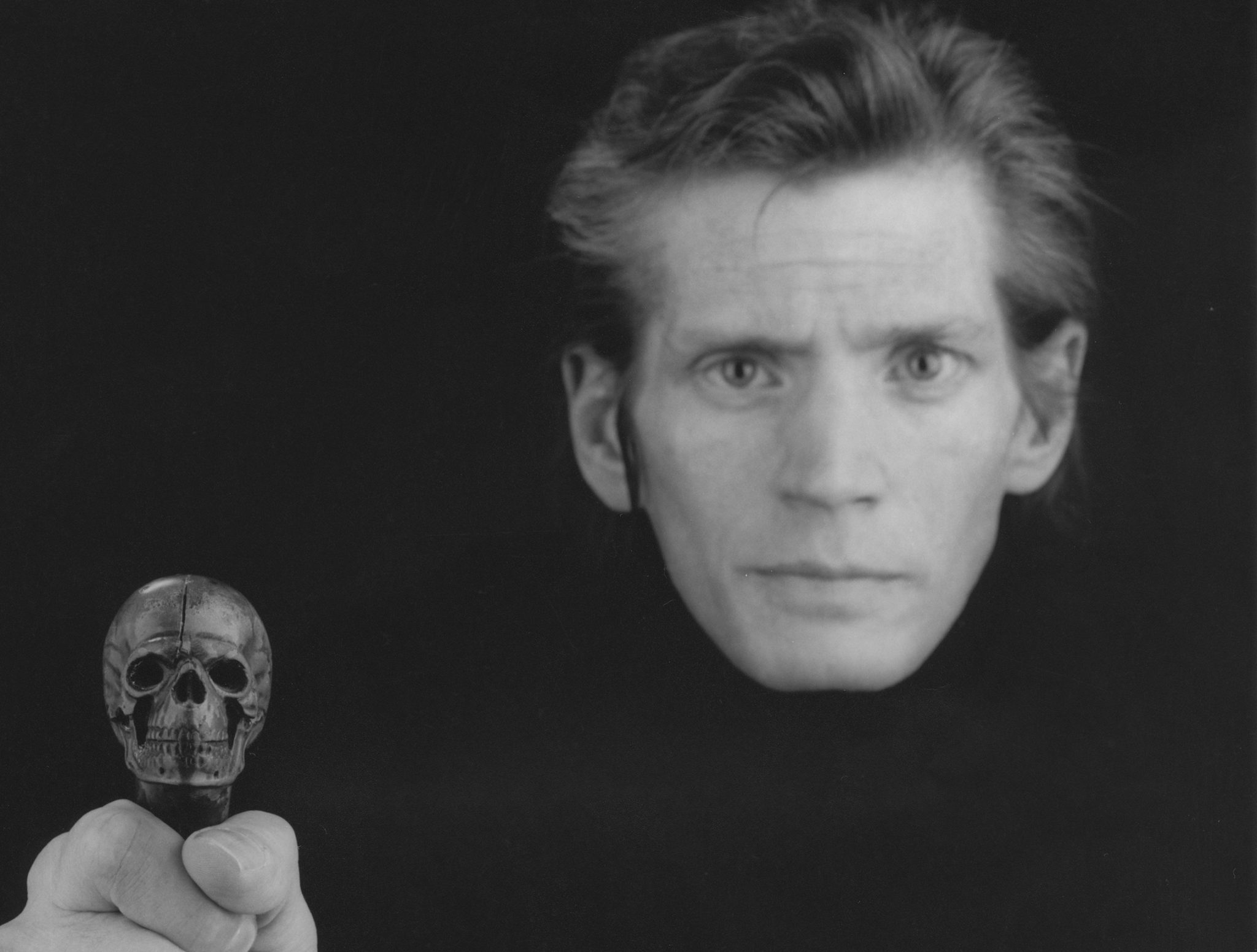 Robert Mapplethorpe Self-Portrait, 1988 (PARTICOLARE) © Robert Mapplethorpe Foundation. Used by permission