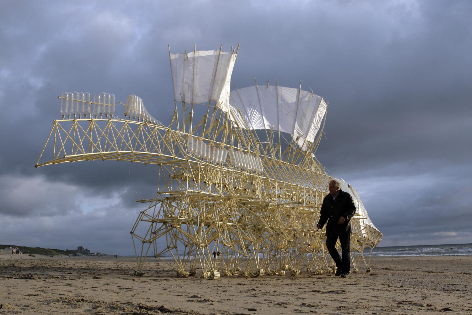 Theo Jansen, Strandbeest