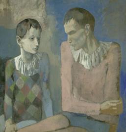 Pablo Picasso, Acrobate et jeune Arlechin