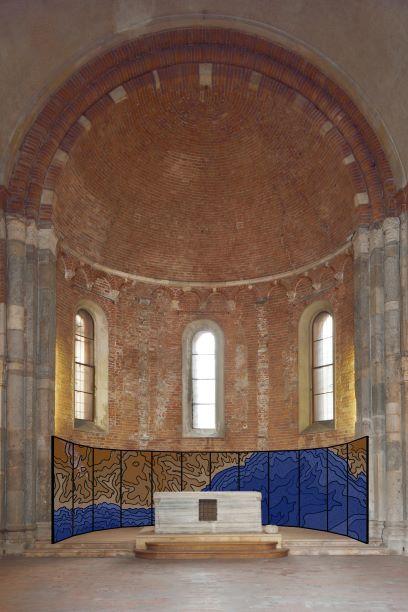 Impronte alla Deriva nella Chiesa sconsacrata di Santa Maria dei Miracoli a Milano