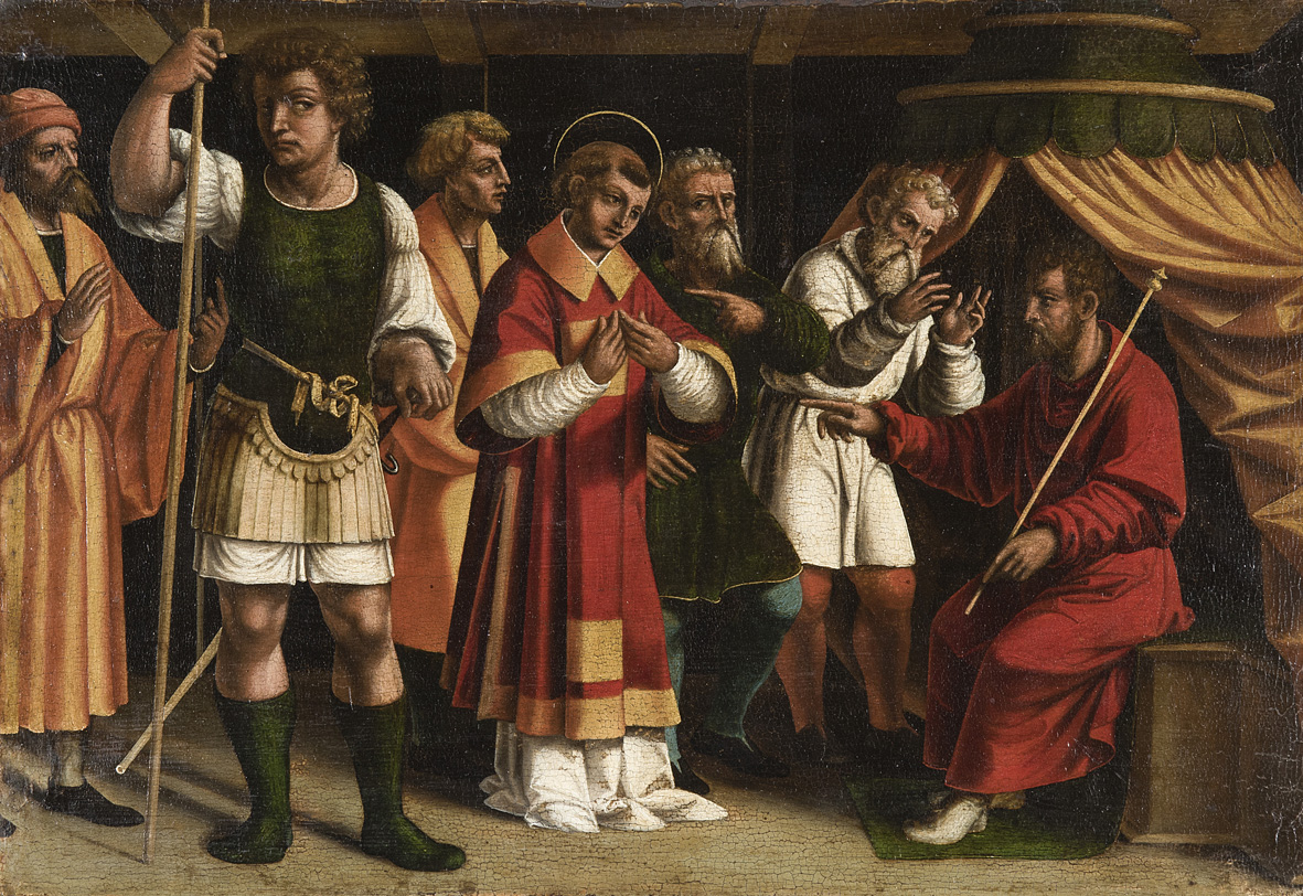 Francesco De Tatti: Santo Stefano davanti ai giudici, 1526