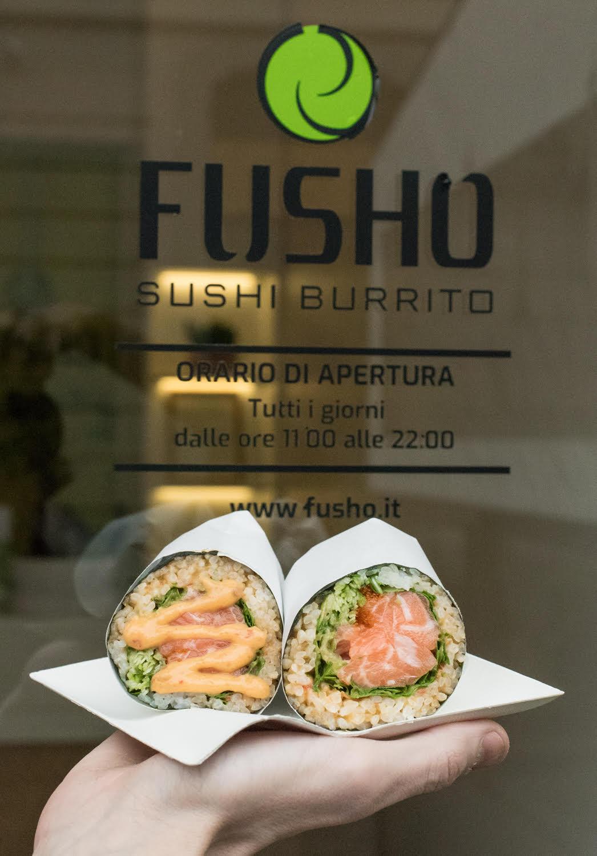 Nuova sede per FUSHO, il ristorante di sushi burrito a Milano