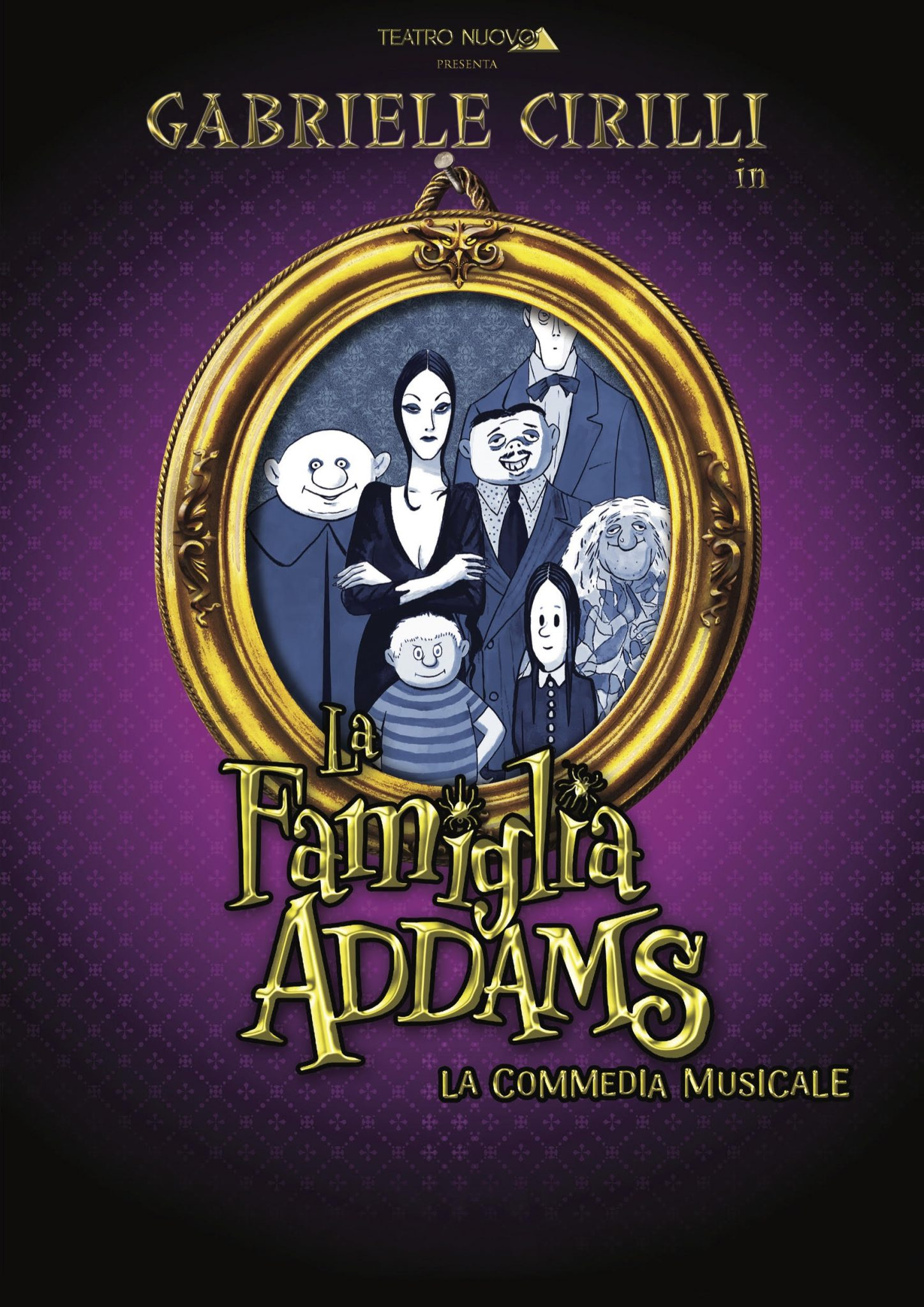 Tour italiano per La famiglia Addams con la regia di Claudio Insegno