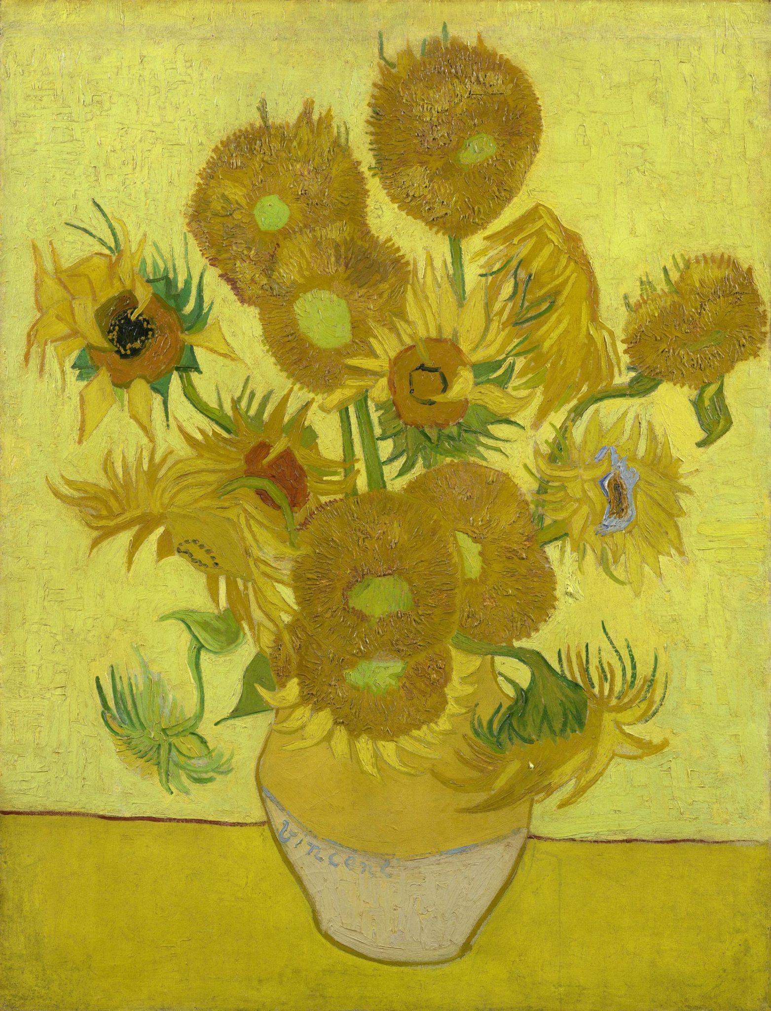 """I """"Girasoli"""" di van Gogh di Amsterdam non viaggeranno più. Troppo fragili"""