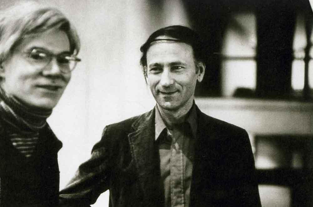 Jonas Mekas e Andy Warhol