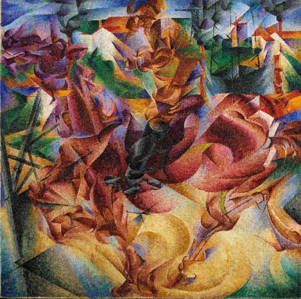 Umberto Boccioni (1882-1916) Elasticità, post 1912