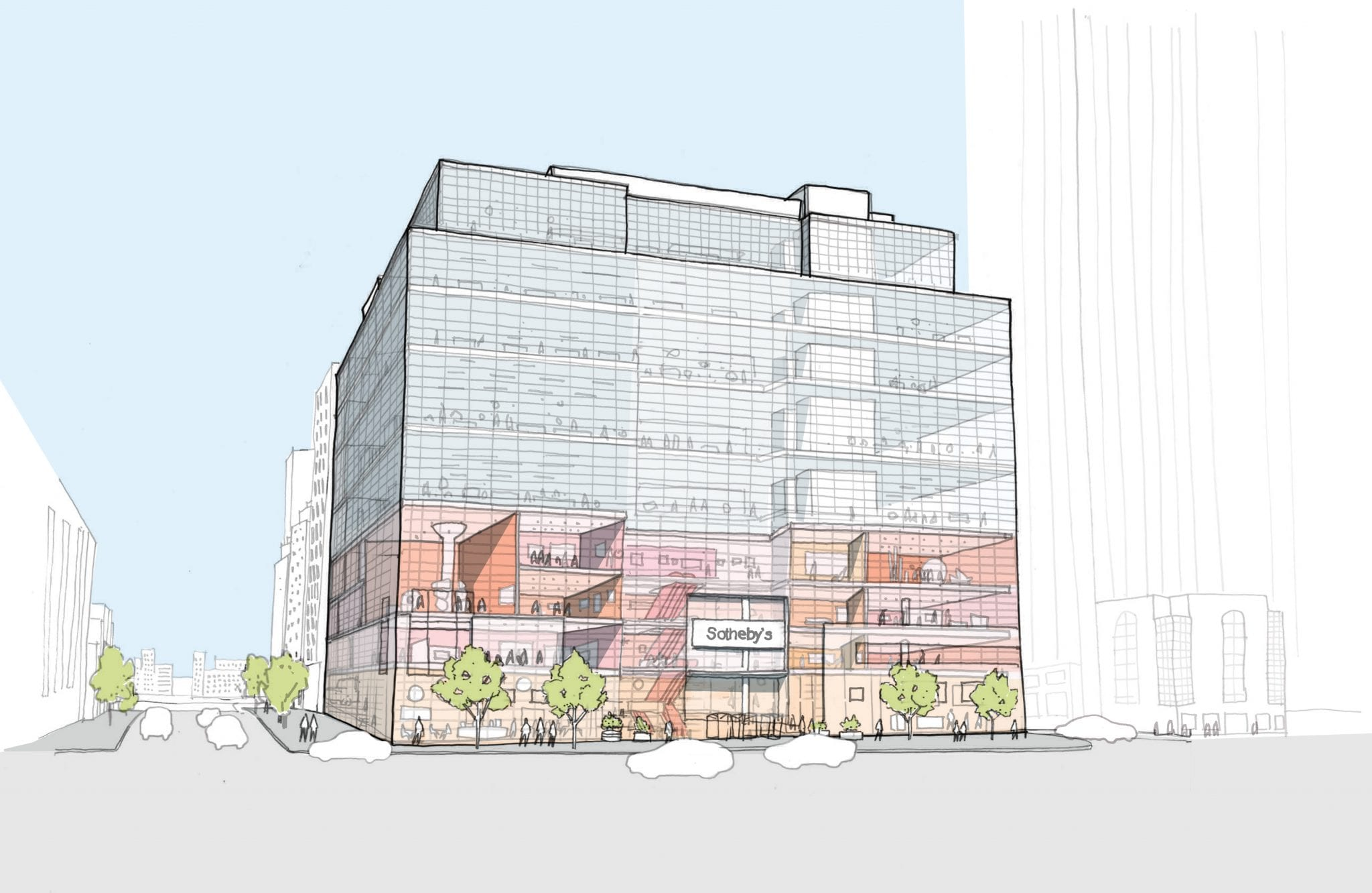Sotheby's NYC si rinnova. Ecco le novità della nuova sede inYork Avenue