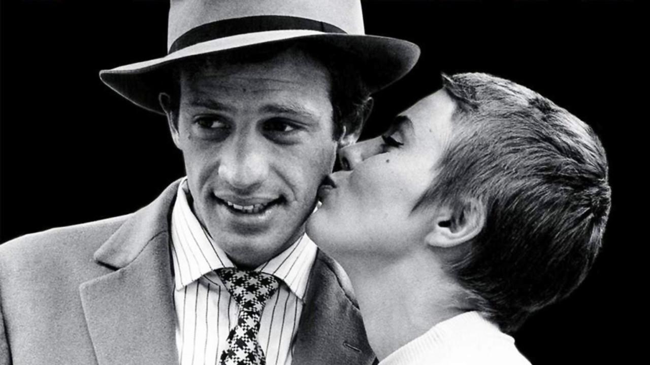 Fino all'ultimo respiro (À bout de souffle), 1960, scritto e diretto da Jean-Luc Godard