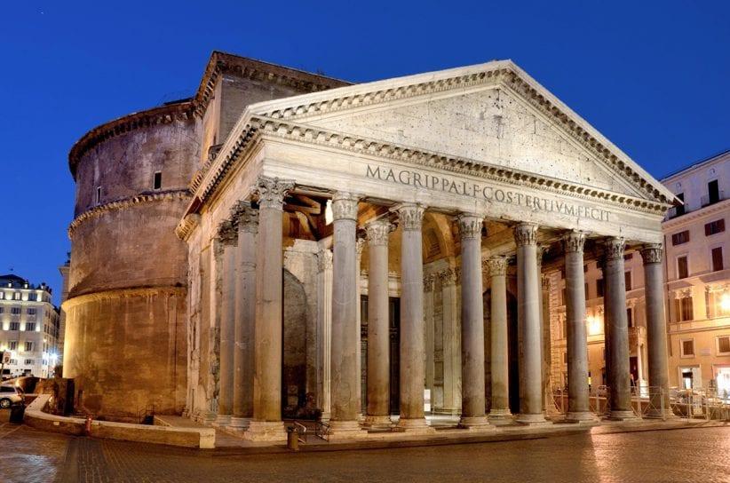 Il Pantheon, a Roma