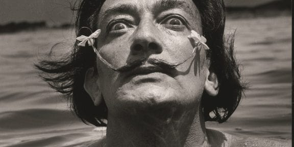 Jean Dieuzaide Salvador Dalí s.d. Fotografia 82,5 x 62,5 cm Coll. Würth, Inv. 7055 © Jean Dieuzaide