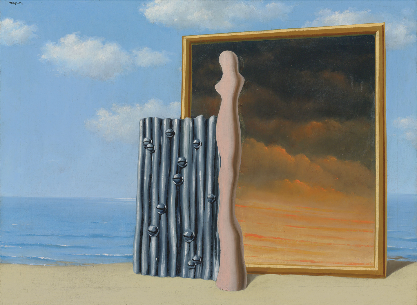 René Magritte, Composition on a Sea Shore (1935-36, estimate: £2,000,000-3,000,000)