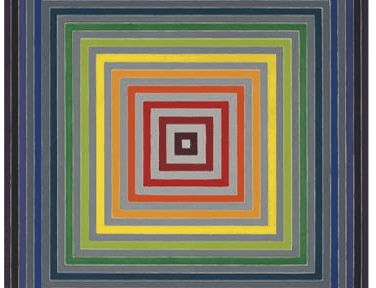 Post-War and Contemporary Art Evening Sale, New York, 15 May 2019, Frank Stella, Lettre sur les aveugles I, acrylic on canvas, 1974