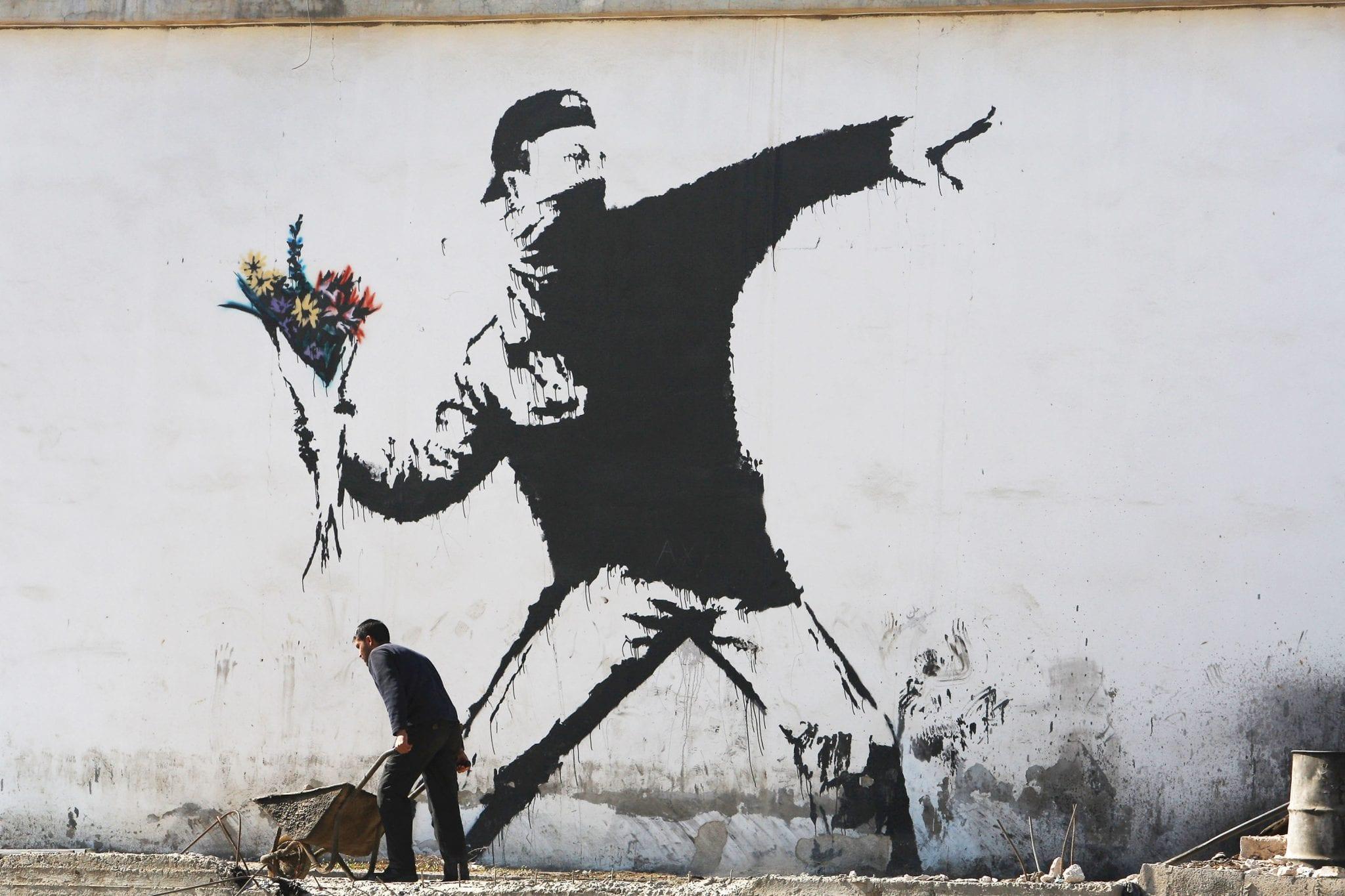 Chi è Banksy? Gli indizi guardano sempre più ad Art Attack!