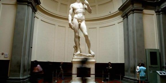 Il David di Michelangelo, chiuso causa Green pass