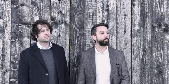 Andrea Tinterri e Domenico Russo. Fotografia di Nicolò Cecchella