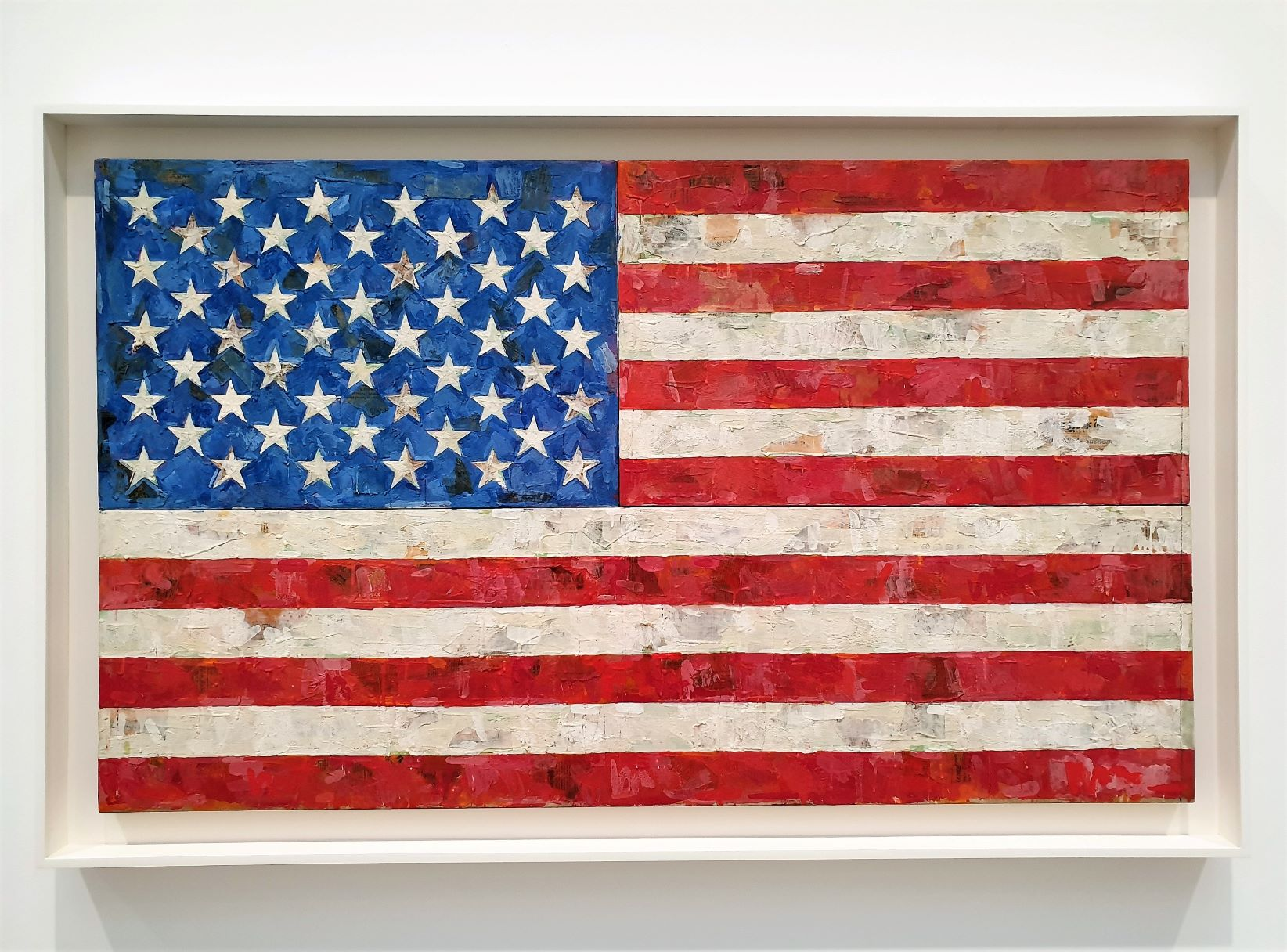 Jasper Johns al The Broad