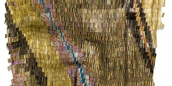 El Anatsui GHANAIAN ZEBRA CROSSING 2 Estimate 550,000 — 750,000 GBP