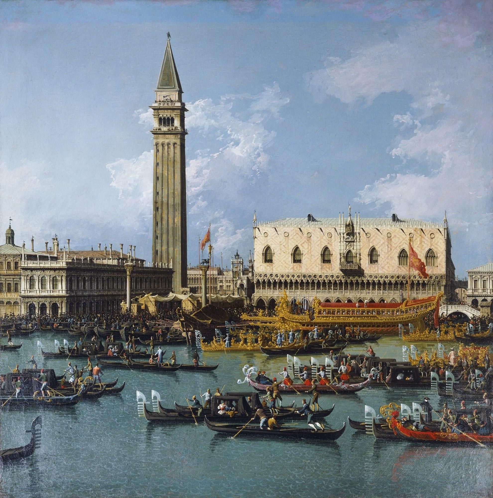 Canaletto e coetanei a Venezia. La grande mostra sul Settecento veneziano a Palazzo Ducale