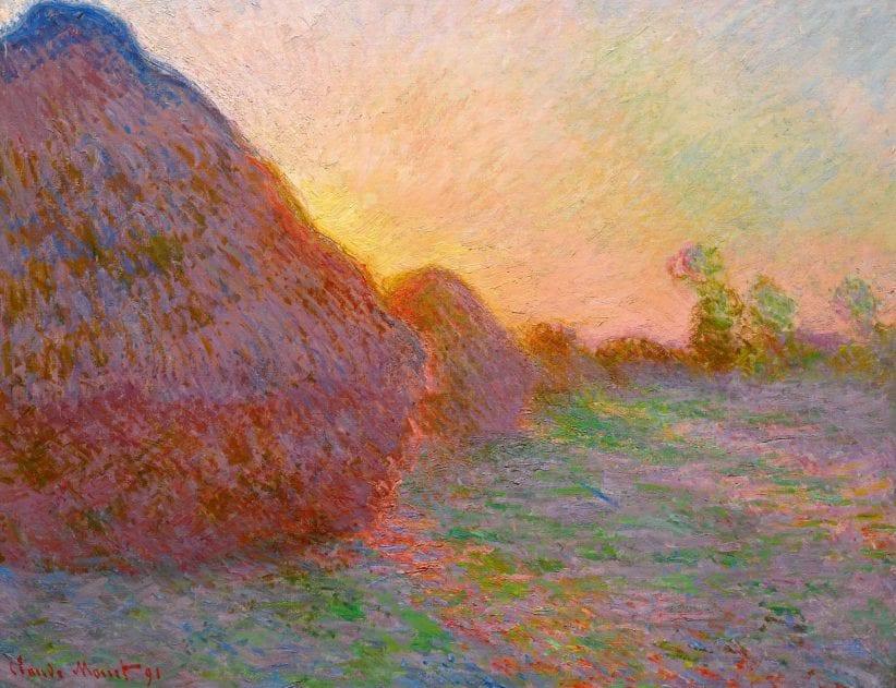 Claude Monet, Macina