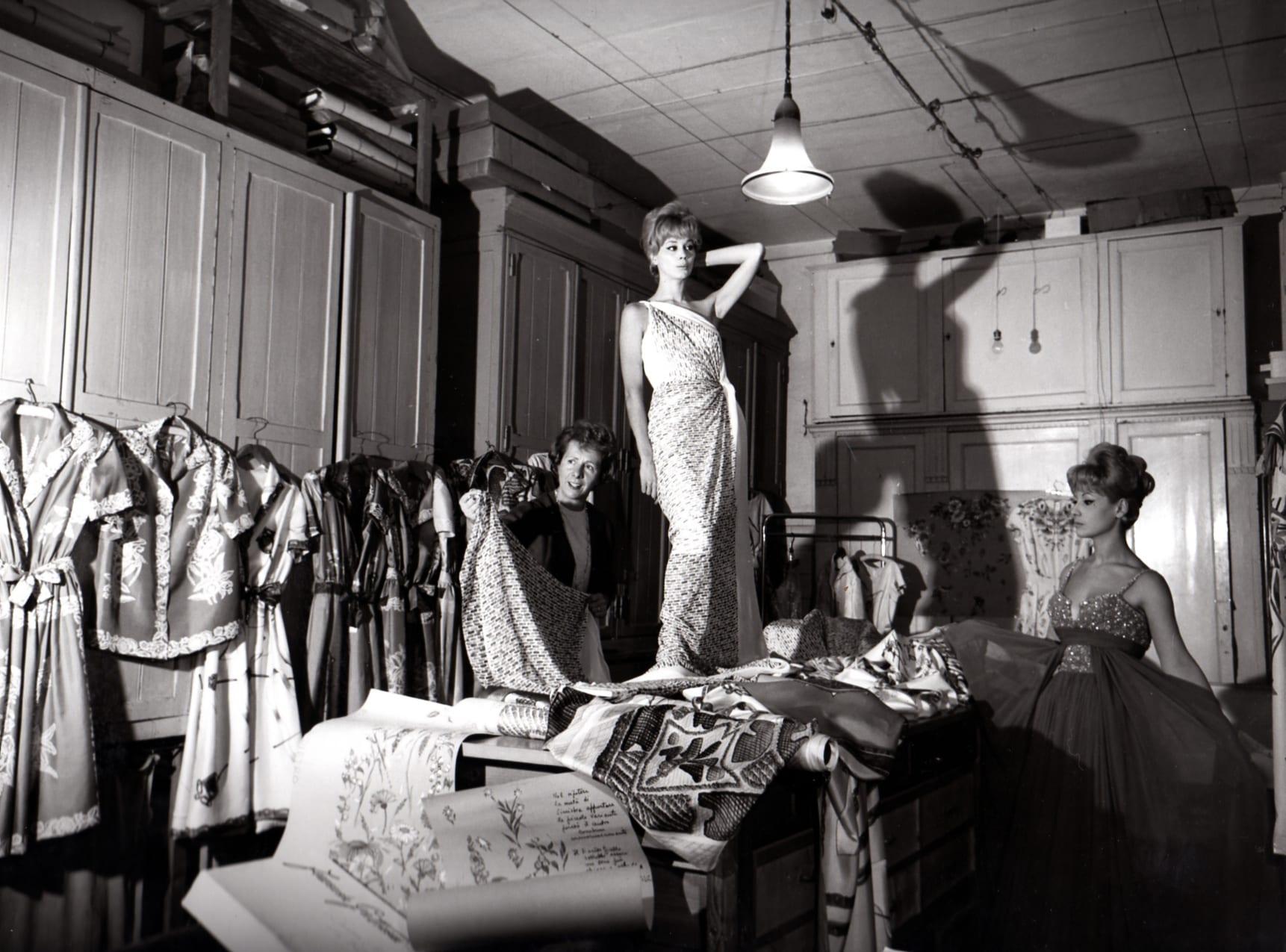 La moda italiana ai tempi della Hollywood sul Tevere. Una conferenza da Bertolami Fine Art