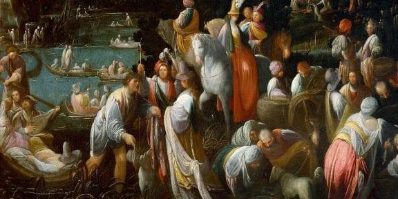Andrea Donducci, Festa campestre in riva a un fiume