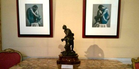 Allestimento della mostra di Robert Mapplethorpe a Roma, Foto ArtsLife