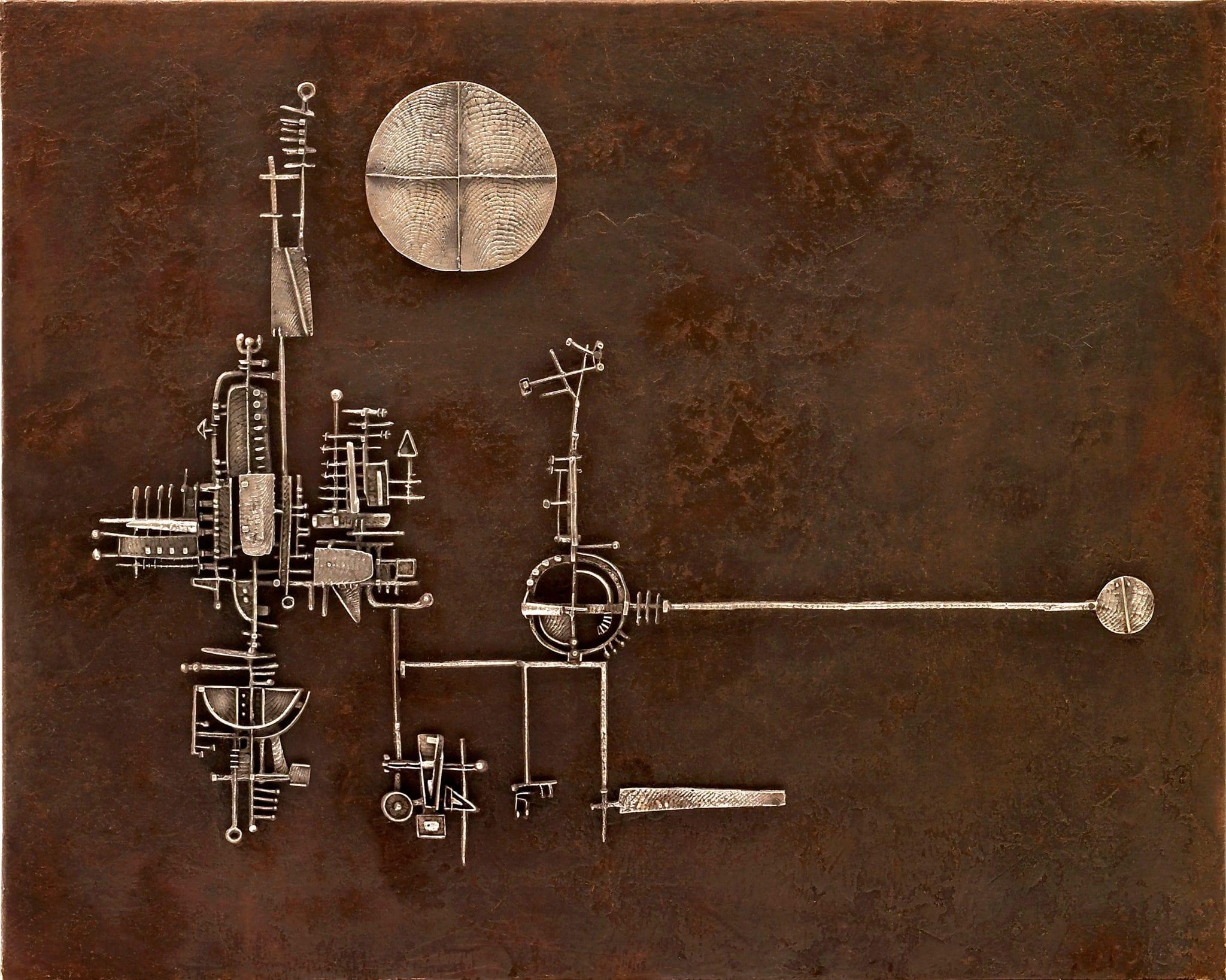 Ruota, cubo, sfera. Le origini creative di Arnaldo Pomodoro in mostra a Parigi