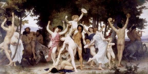 William-Adolphe Bouguereau's, La Jeunesse de Bacchus