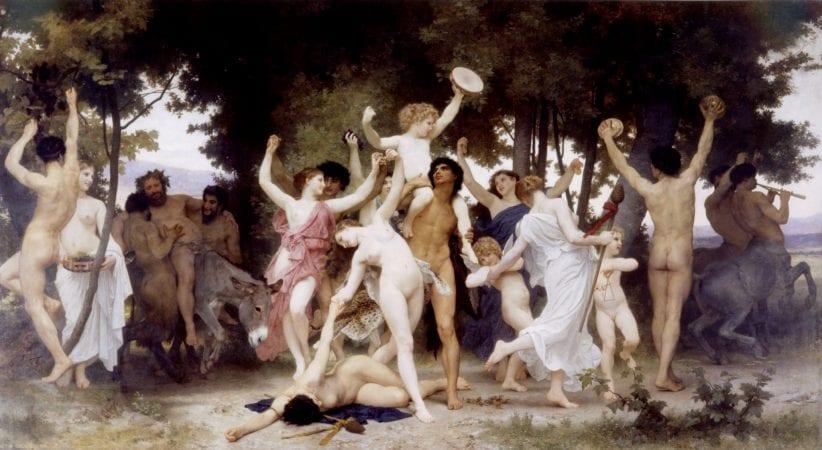 William-Adolphe Bouguereau's, La Jeunesse de Bacchus