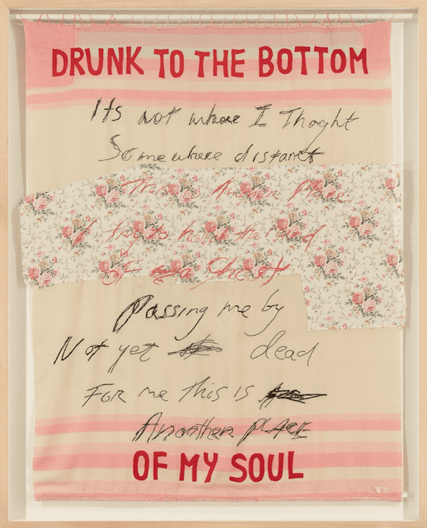 The George Michael Collection. TRACEY EMIN (B. 1963) Drunk to the Bottom of my Soul""