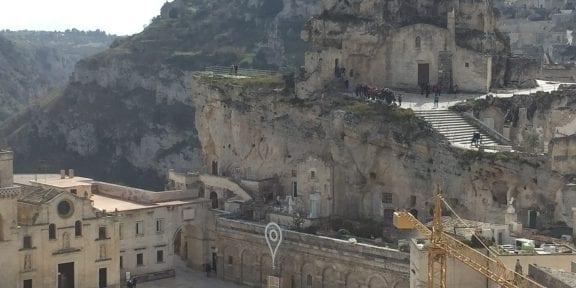 La chiesa rupestre di Santa Maria de Idris, a Matera