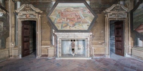 Stanza del Castello, Palazzo Arese Borromeo, Cesano Maderno