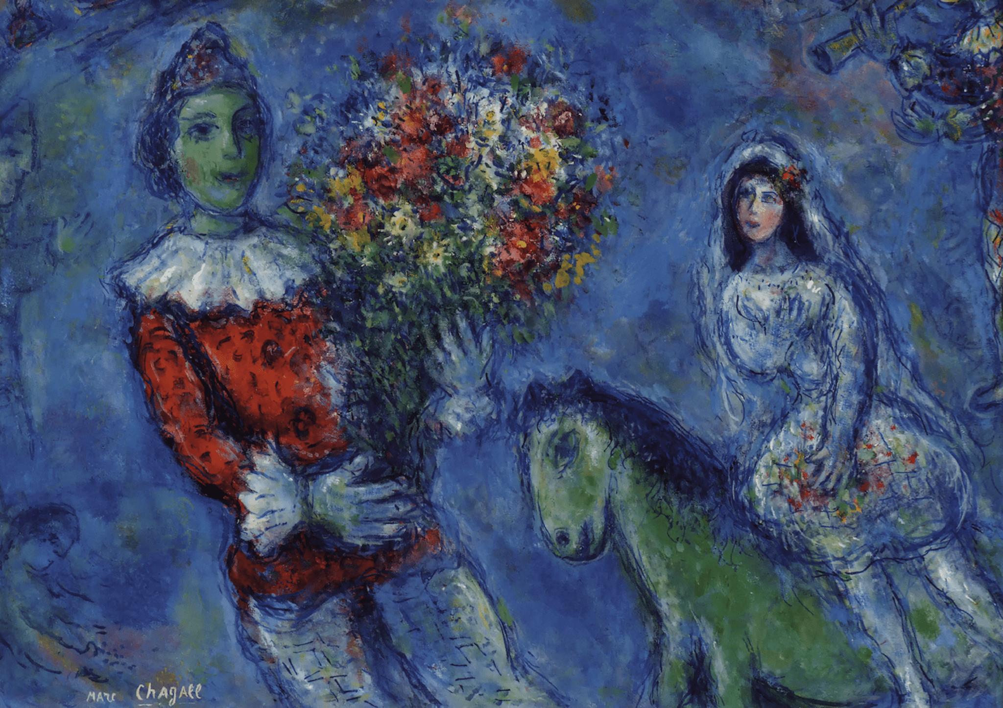 Sogno d'amore. L'universo poetico e sognante di Marc Chagall, a Napoli