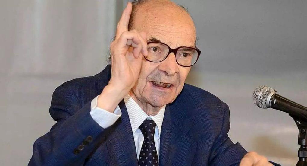 Morto a 90 anni a Roma Tullio Gregory, celebre filosofo e storico medievalista