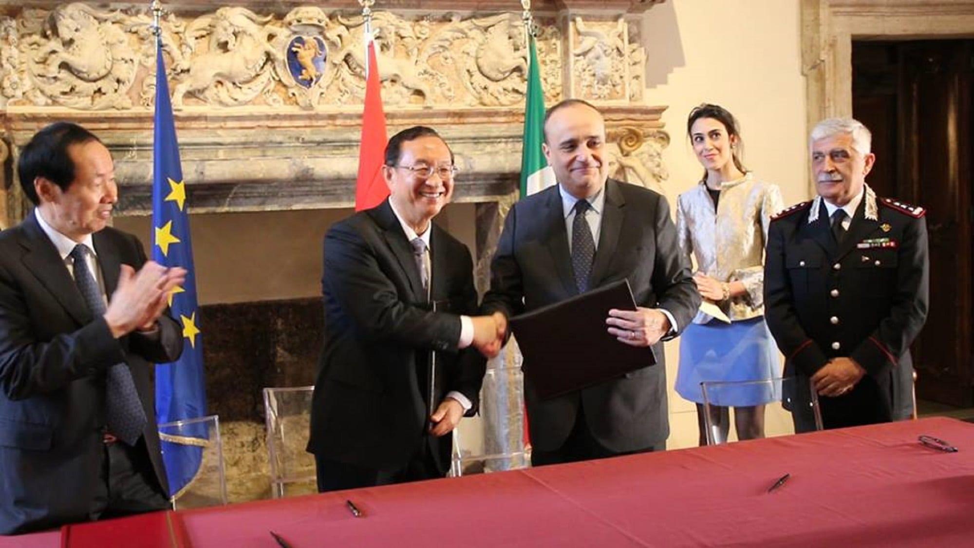 Il presidente cinese a Roma: gli accordi in ambito artistico-turistico