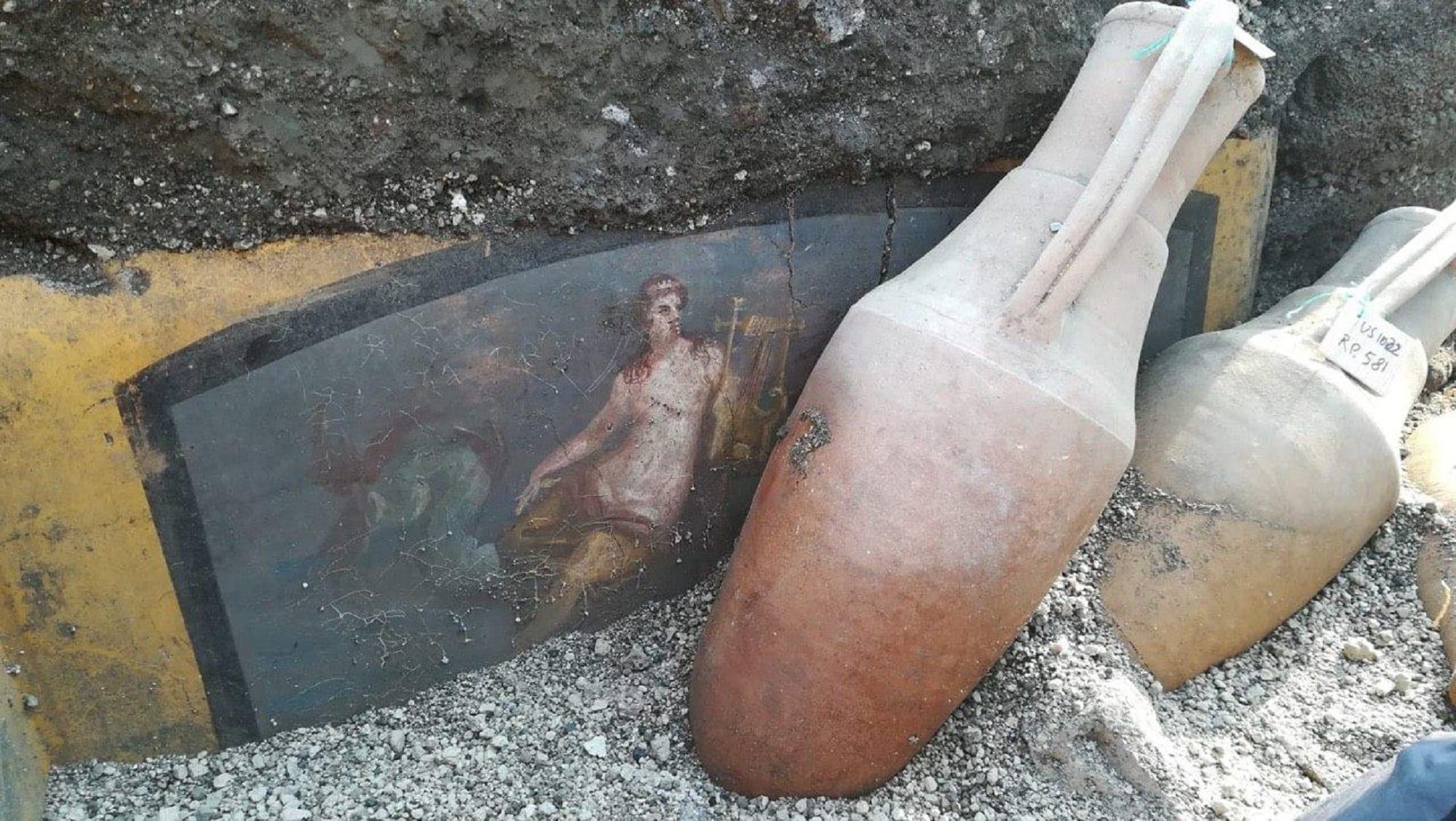 Una tavola calda (affrescata) di 2000 anni fa! Un'altra sensazionale scoperta a Pompei
