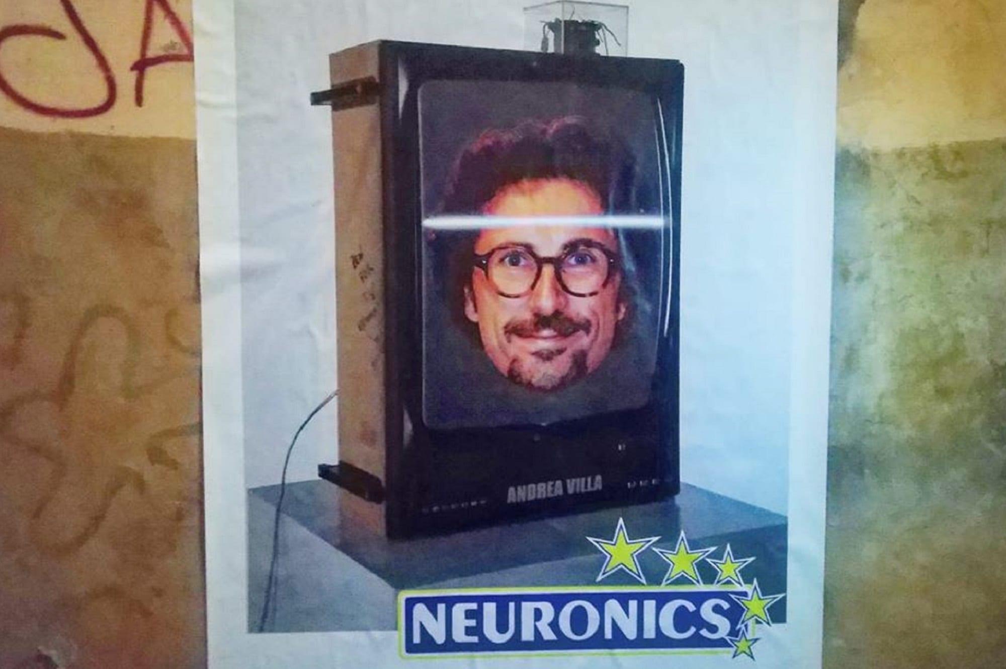 Toninelli Neuronics. A Roma il ministro diventa un'opera di street art a 5 stelle