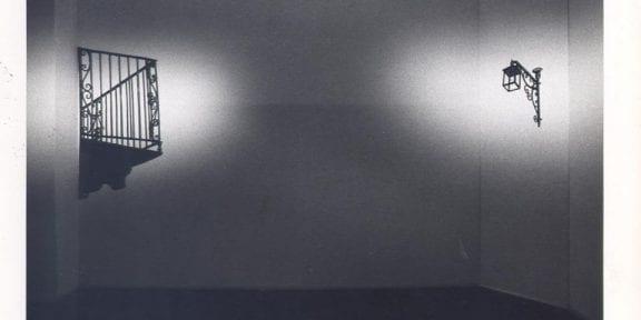 Antonio Trotta, Balcone, lampione, 1976 – Biennale di Venezia