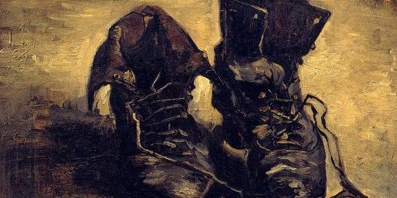 Vincent Van Gogh, Scarpe