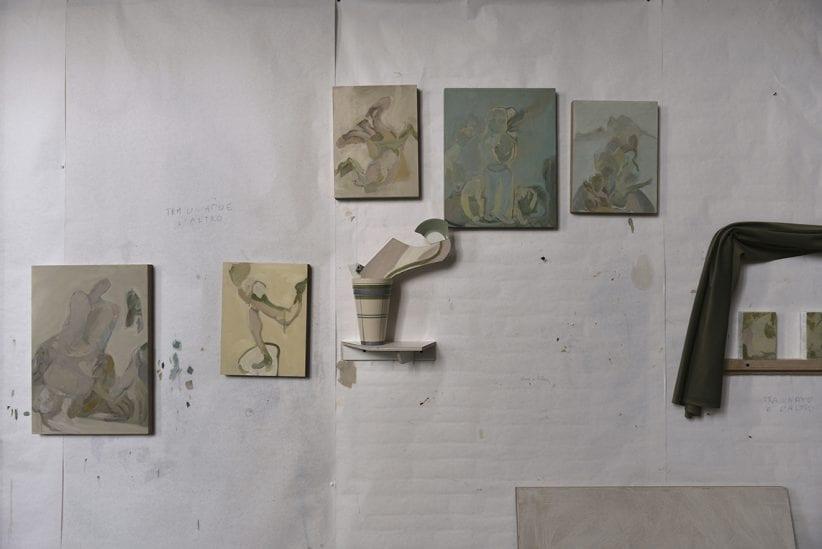 Studio di Beatrice Meoni, fotografia di Nicolò Cecchella