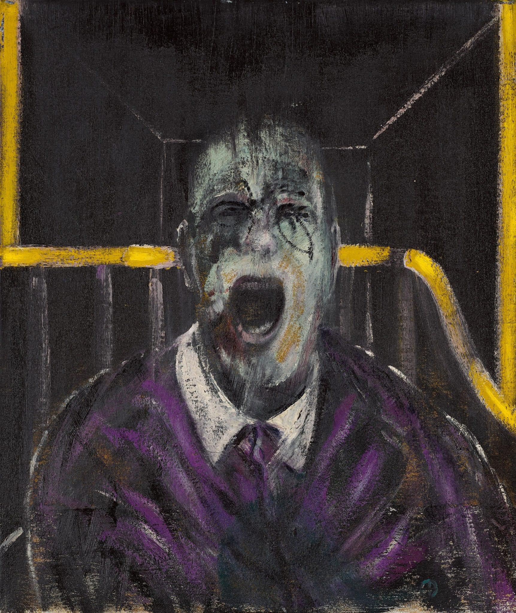 Un iconico 'Screaming Pope' di Francis Bacon in asta da Sotheby's. Stima $20/30 milioni