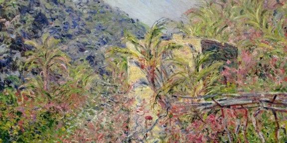 """""""Vallée de Sasso, effet de soleil"""", 1884 - Paris, Musée Marmottan Monet. Legs de Michel Monet, 1966 © Musée Marmottan Monet, Paris / Bridgeman Images"""