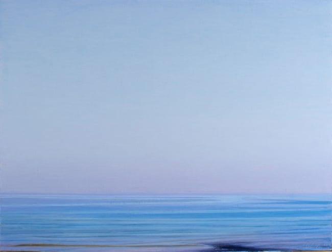 La pittura come il mare: azzurro, calmo e profondo. Il primo grande tributo a Piero Guccione dopo la scomparsa, a Mendrisio